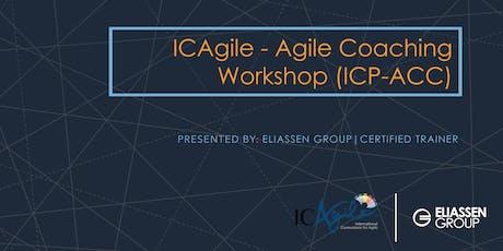 ICAgile - Agile Coaching Workshop (ICP-ACC) - Reading/Boston tickets