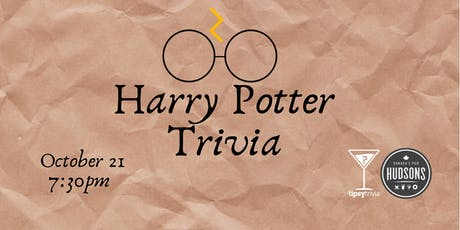 Harry Potter Movie Trivia - Oct 21, 7:30pm - Hudsons Shawnessy tickets
