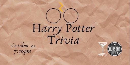 Harry Potter Movie Trivia - Oct 21, 7:30pm - Hudsons Shawnessy