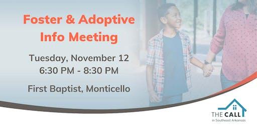 November Info Meeting