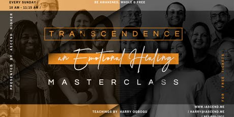 A Healing Experience Masterclass (Transcendence) tickets