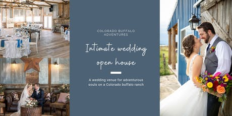 Intimate Wedding Open House tickets