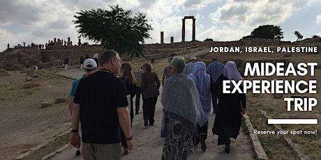 Mideast Experience Trip - Middle East: Israel, Palestine, Jordan tickets