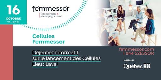 DÉJEUNER INFORMATIF | Lancement des Cellules Femmessor | Laval