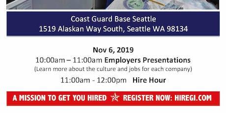 Coast Guard Seattle Veteran Job Fair - Nov 2019 tickets