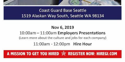 Coast Guard Seattle Veteran Job Fair - Nov 2019