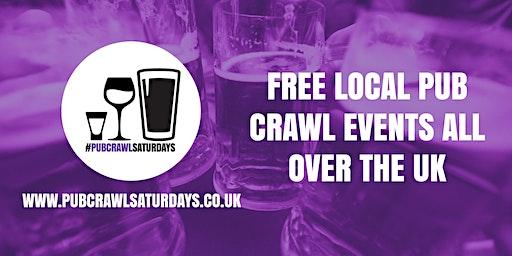 PUB CRAWL SATURDAYS! Free weekly pub crawl event in Congleton