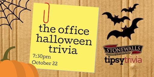 The Office Halloween Trivia - Oct 29, 7:30pm - Stonewall's Hamilton