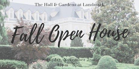 Wedding Open House | Fall 2019 tickets