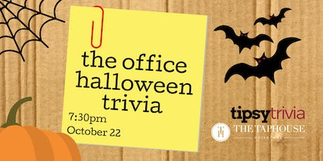 The Office Halloween Trivia - Oct 22, 7:30pm - The Taphouse Guildford tickets