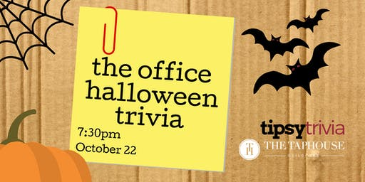 The Office Halloween Trivia - Oct 22, 7:30pm - The Taphouse Guildford