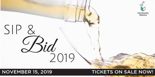 Community Option's 6th Annual Sip & Bid
