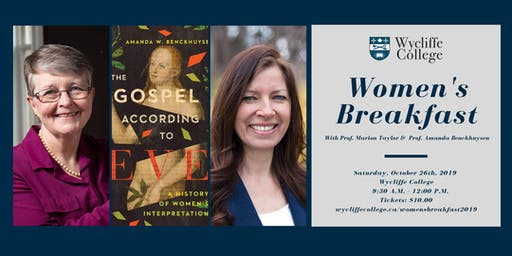 2019 Women's Breakfast: The Gospel According to Eve