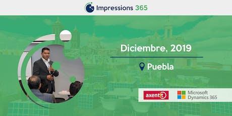 Impressions 365 Puebla boletos