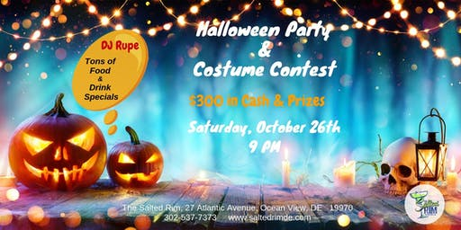 Halloween Party & Costume Contest - The Salted Rim