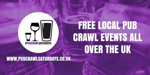 PUB CRAWL SATURDAYS! Free weekly pub crawl event in Sandbach