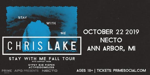 RESCHEDULED: Chris Lake: Stay With Me Tour