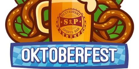 S&P 's 1st Annual Oktoberfest  tickets