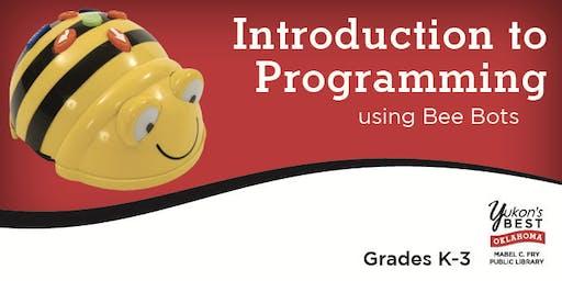 Intro to Programming Using Bee Bots (K-3)
