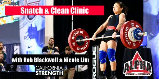 Snatch & Clean Clinic