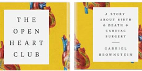 Author's Talk: The Open Heart Club by Gabriel Brownstein tickets