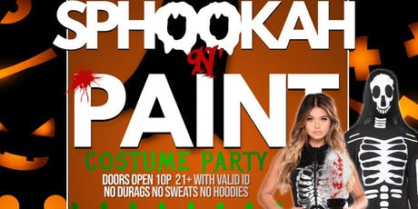 SpOoky Hookah and Paint tickets