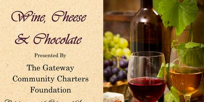 Wine Cheese and Chocolate Reception 2019