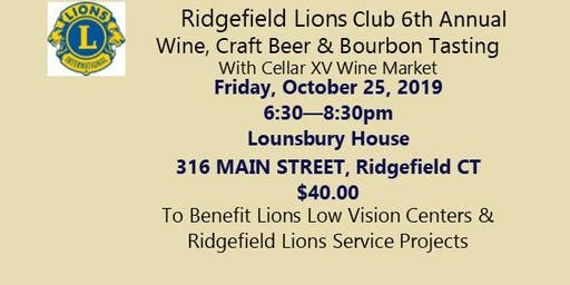 Ridgefield Lions Club  2019 Wine/Craft Beer/Bourbon Tasting Fundraiser