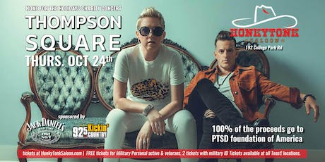 Thompson Square LIVE at HonkyTonk Saloon tickets