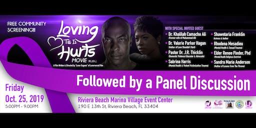 """Loving Till It Hurts"" FREE Community Screening & Panel Discussion"