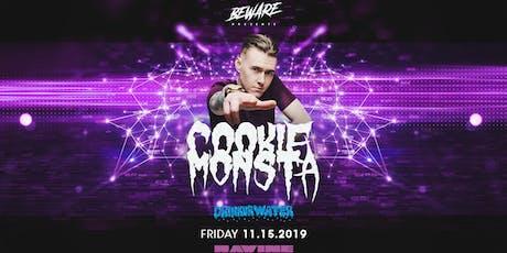 Cookie Monsta at Ravine | 18+ tickets