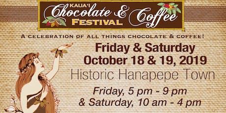 2019 Kaua`i Chocolate & Coffee Festival tickets