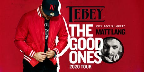 TEBEY -The Good Ones Tour tickets