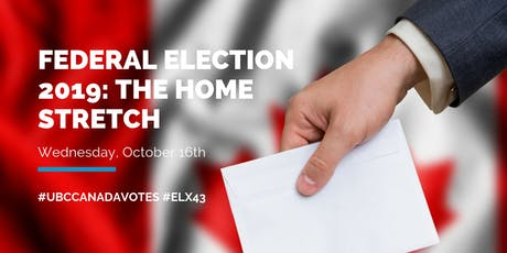 Federal Election 2019: The Home Stretch billets