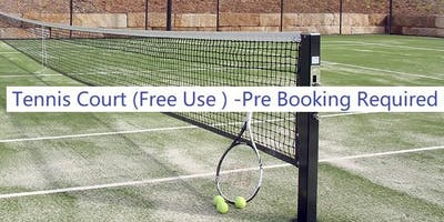 Social Tennis (Free use of Tennis court for local community)