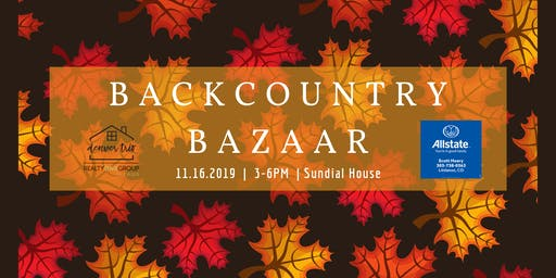 2019 BackCountry Bazaar