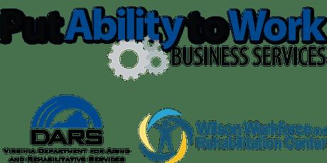 Business Partners Tour of Wilson Workforce & Rehabilitation Center - November 14, 2019 tickets
