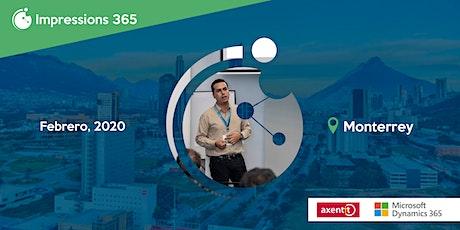 Impressions 365 Monterrey tickets