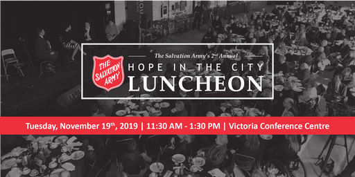 2019 Hope in the City Luncheon - Victoria