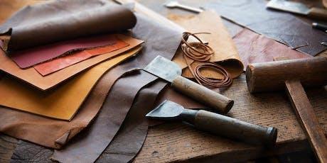 MBX Maker LAB: Workshop - Leather Working Basics & More tickets