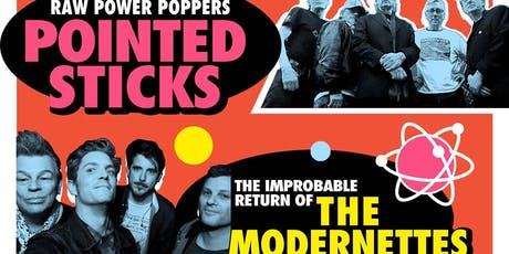 Pointed Sticks with The Modernettes, EddyD and the Sex Bombs, Strange Breed tickets