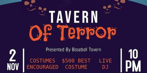 Tavern Of Terror - Halloween Saturday