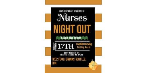 Nurses Night Out - Winston Salem