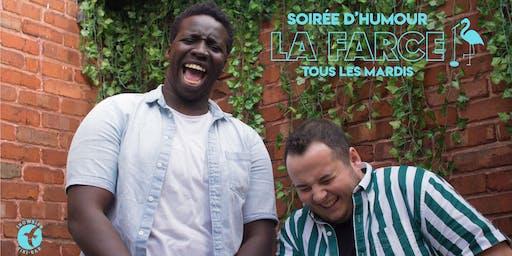 La Farce / Soirée d'humour mardi 15 octobre