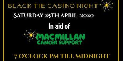 Black Tie Casino Night in aid of MacMillian