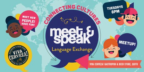 Meet & Speak - Language Exchange in Quito | Ecuador entradas