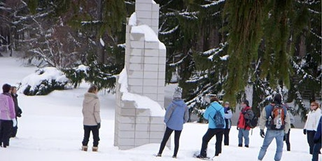 Snowshoe Tours in the Sculpture Park - January 25, 2020 (10:30 am or 1 pm) tickets