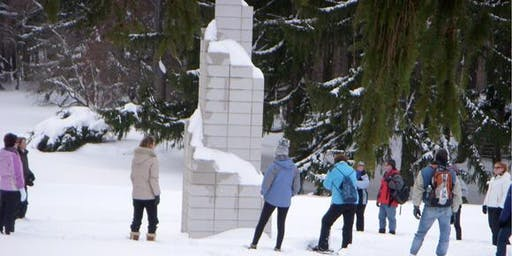 Snowshoe Tours in the Sculpture Park - January 25, 2020 (10:30 am or 1 pm)