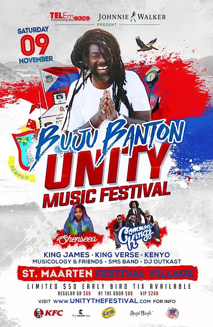 Unity Festival SXM: BUJU BANTON Live in St. Martin / Sint Maarten image