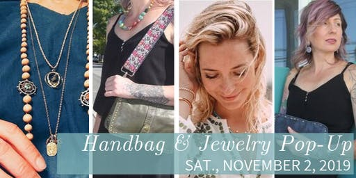 Bolsa Nova Handbags & Jen Stock Jewelry Pop-Up Shop - Sat., 11/02